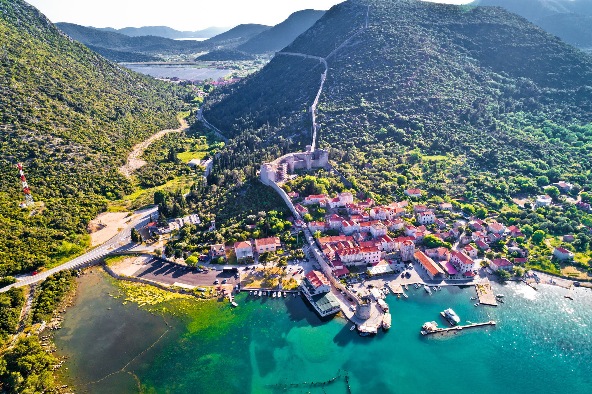 High quality hoto of Ston - Croatia
