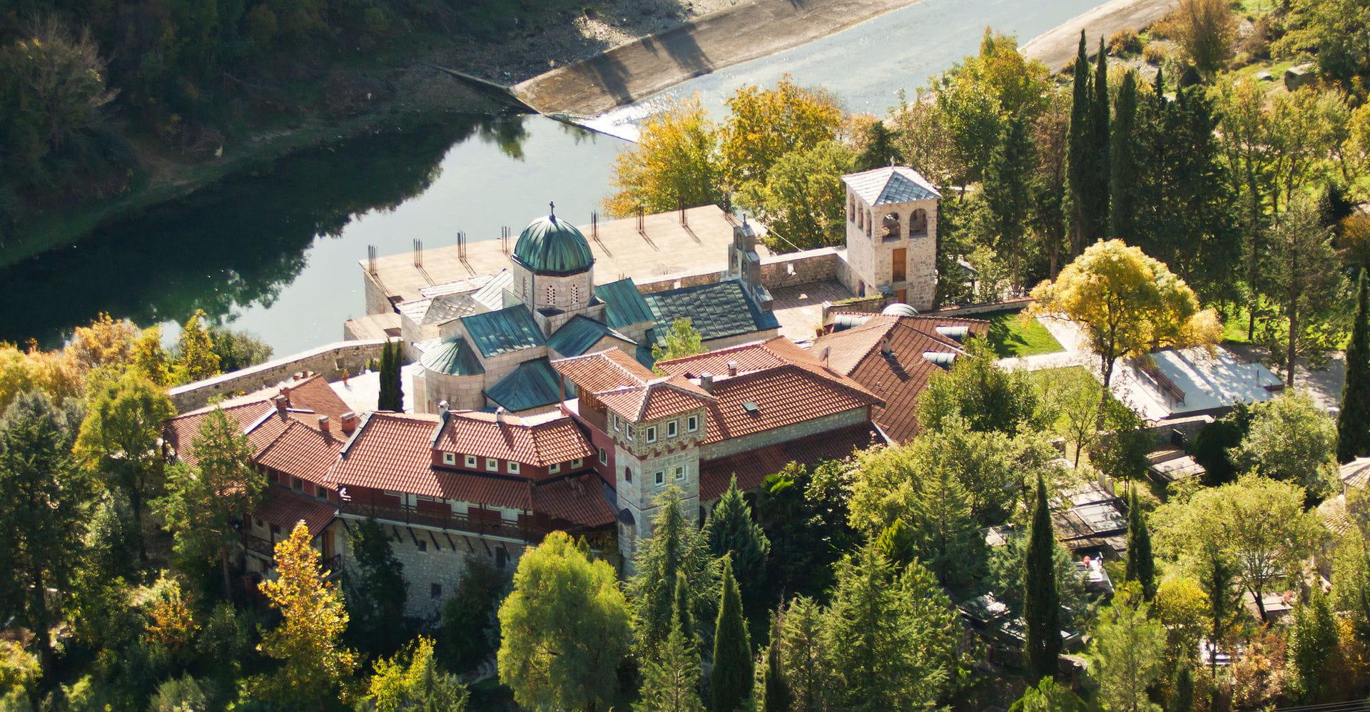 High quality hoto of Tvrdos Monastery - Bosnia and Herzegovina