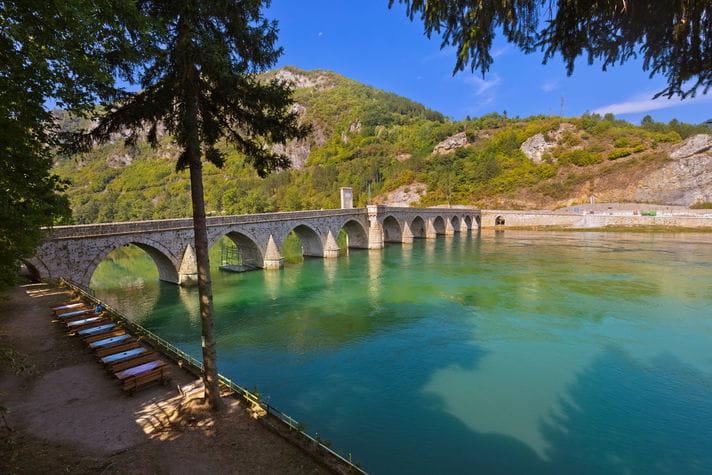 Quality photo of Visegrad - Bosnia and Herzegovina