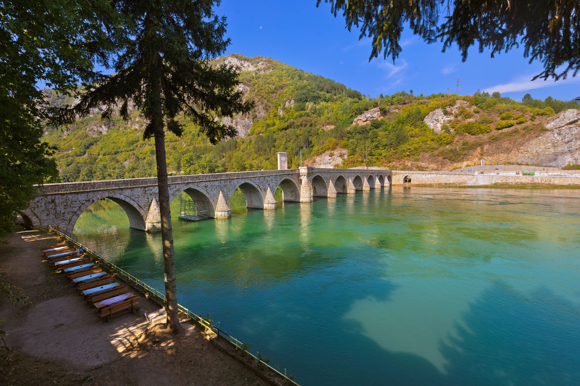 High quality hoto of Visegrad - Bosnia and Herzegovina