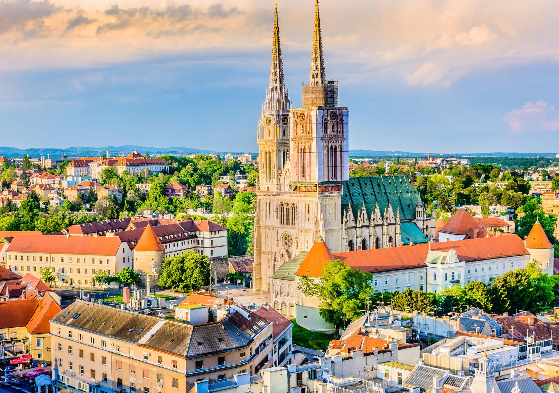 High quality hoto of Zagreb - Croatia
